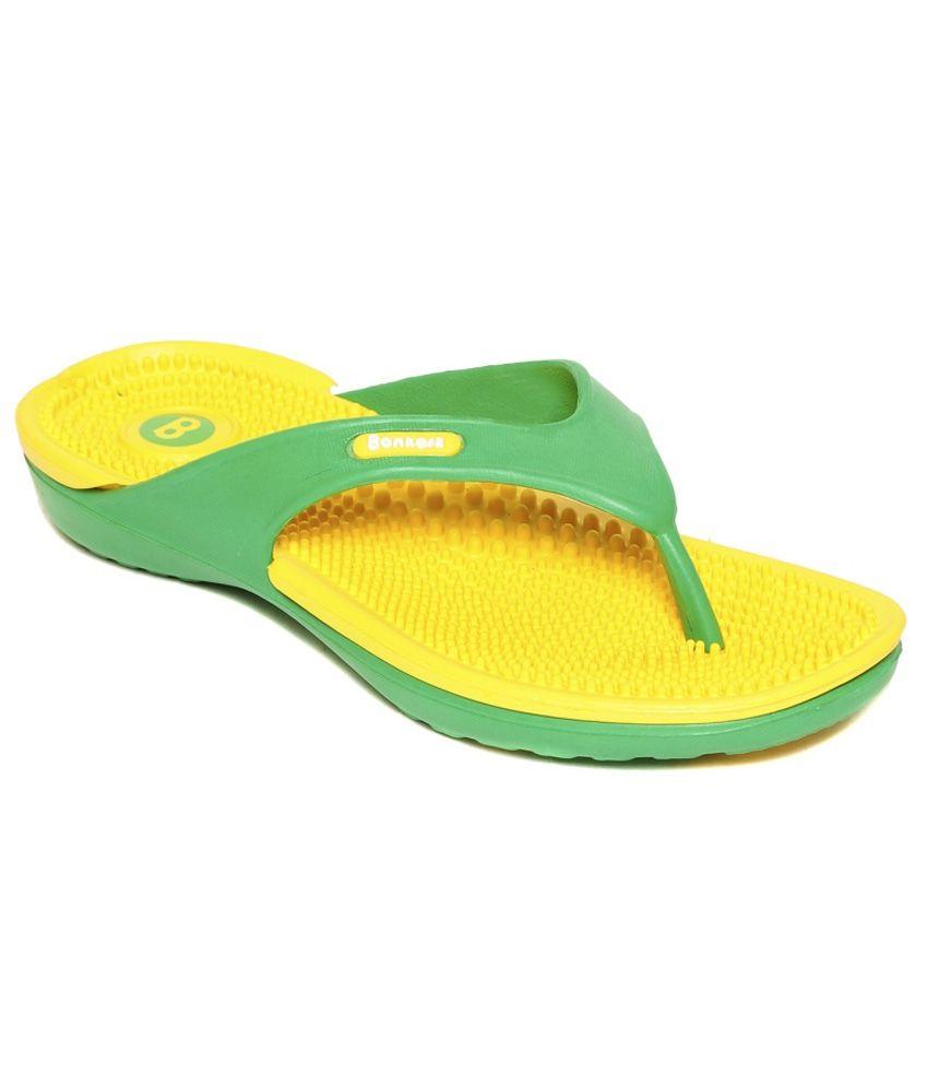 Bonkerz Yellow Slippers