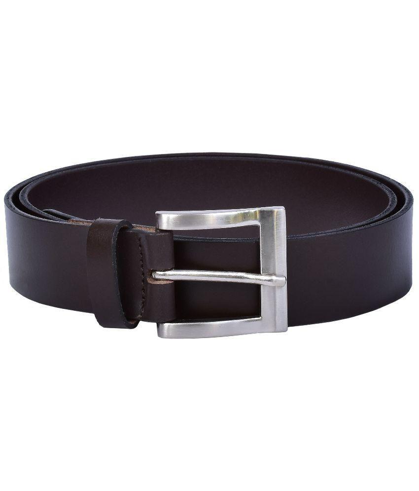 Lafaas Brown Leather Belt