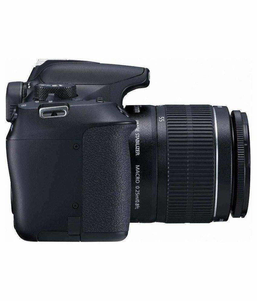 canon eos 1300d camera with 18 55 mm lens price. Black Bedroom Furniture Sets. Home Design Ideas