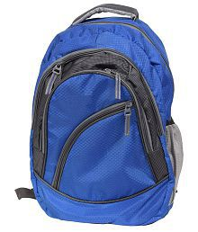 FIPPLE Blue and Grey Canvas Laptop Bag For Samsung Laptops