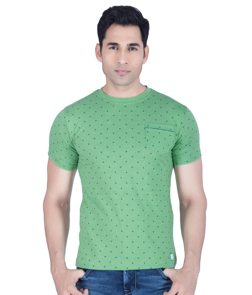 Lawman PG3 Green Round T Shirt