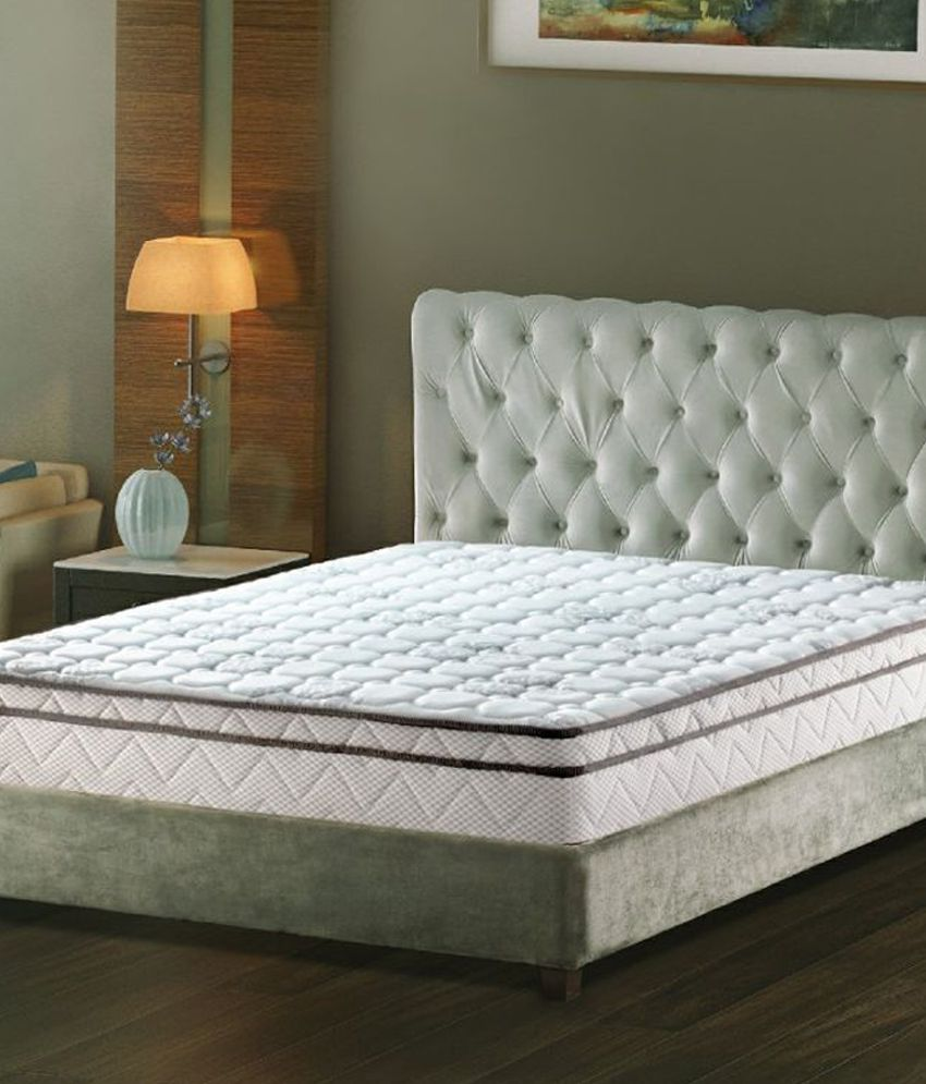 duroflex white cotton super deluxe royal latex mattress buy