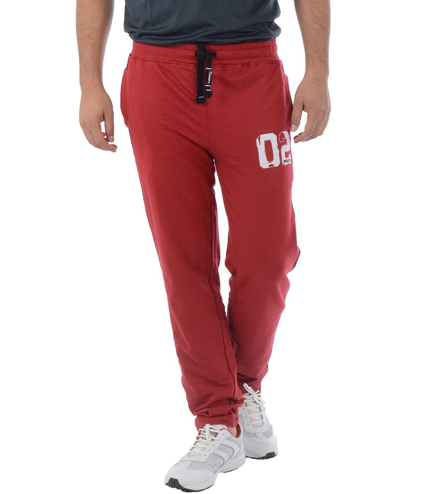 Integriti Maroon Trackpants