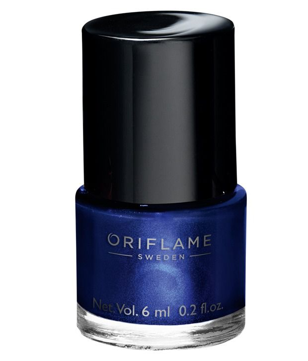 Oriflame Pure Colour Nail Polish Mini Midnight Blue 6 ml: Buy ...