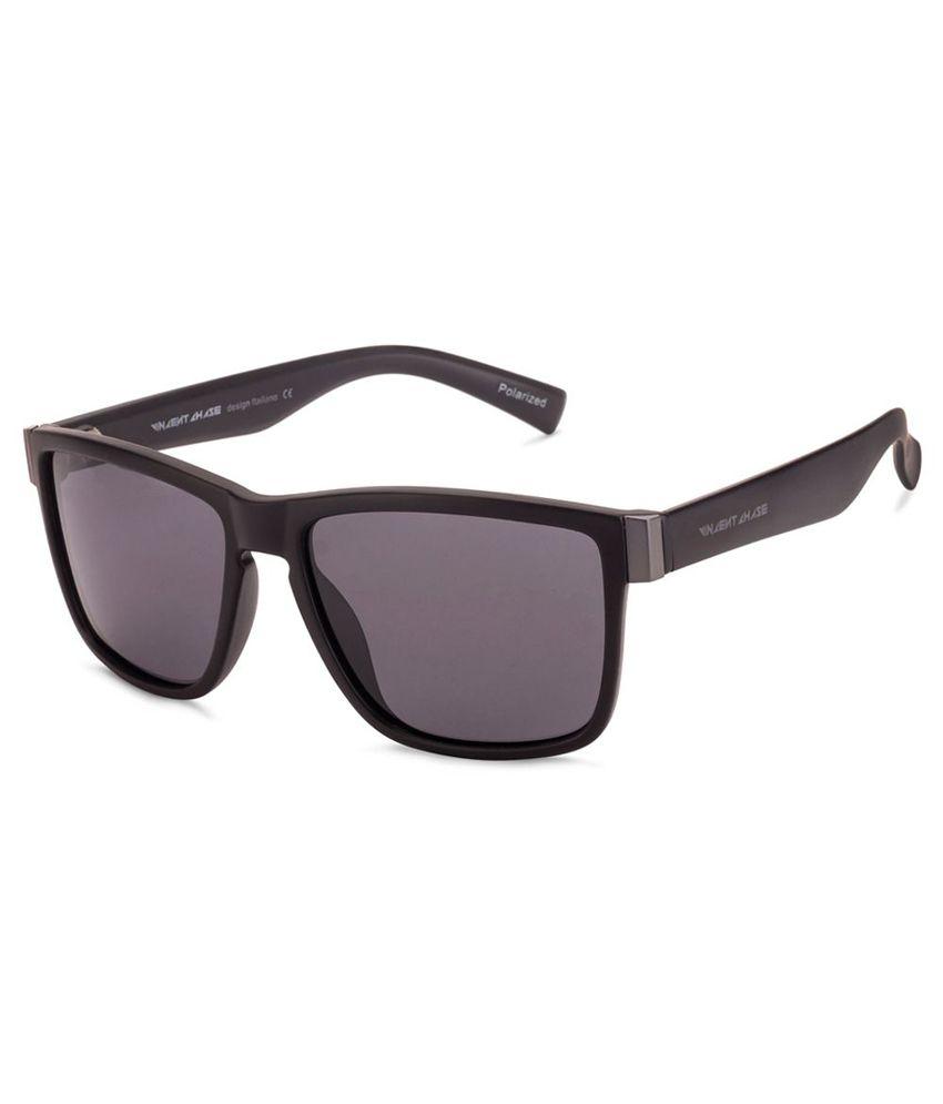 Vincent Chase Gray Wayfarer Sunglasses