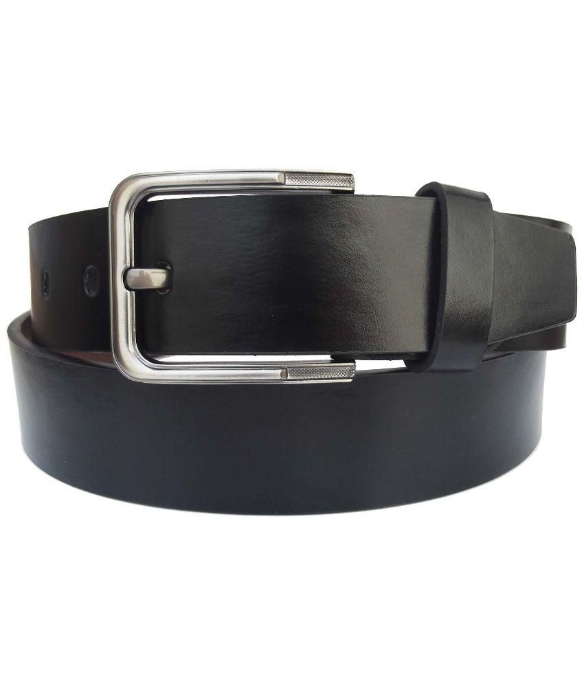 Fronex Black Formal Belt For Men