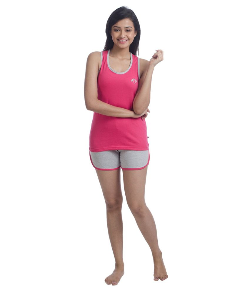 Nite Flite Active Tank Top and Shorts Set