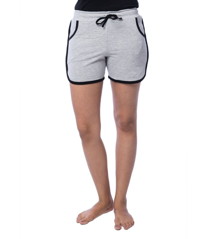 Nite Flite Athletic Cotton Hot Shorts with Black Piping