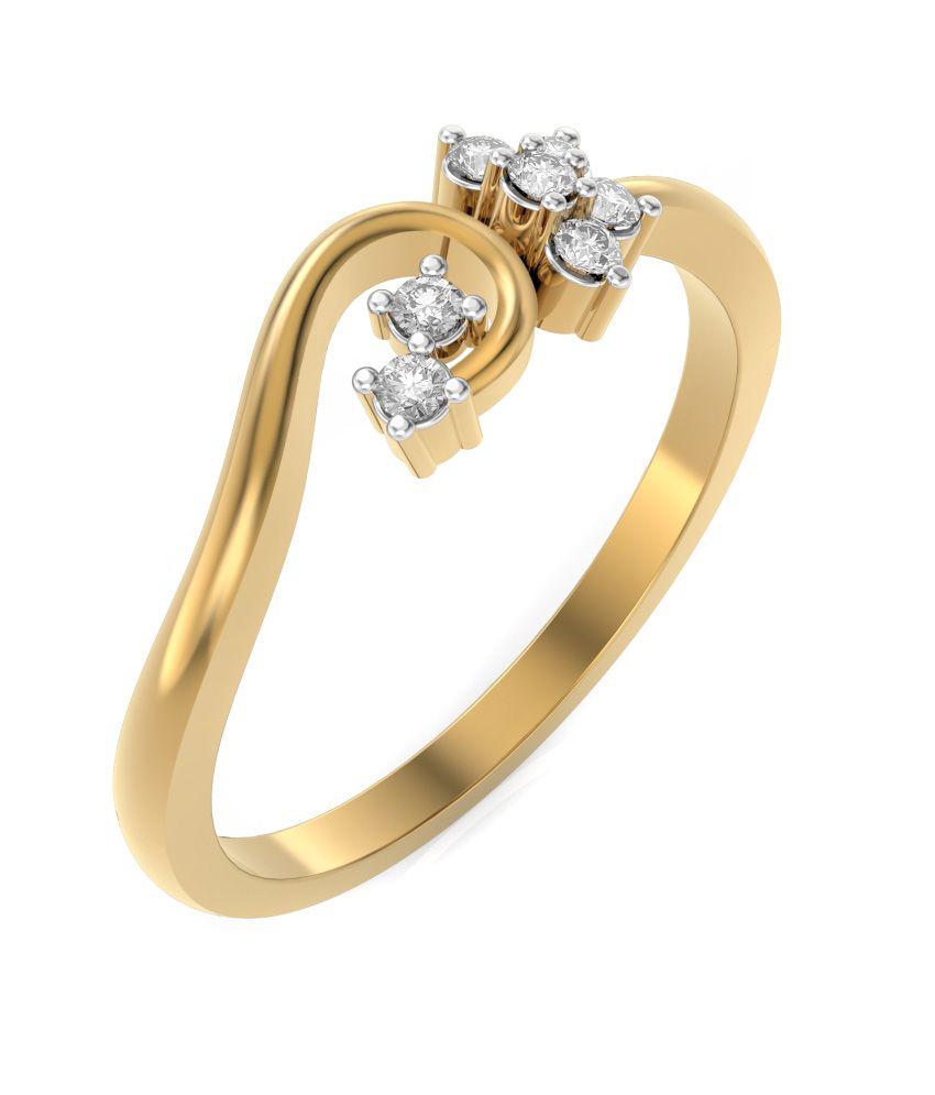 Rings And Blings 18kt Gold Ring