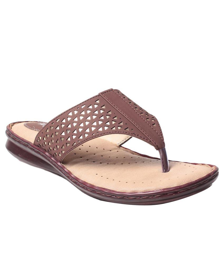 MSC Brown Wedges Heels