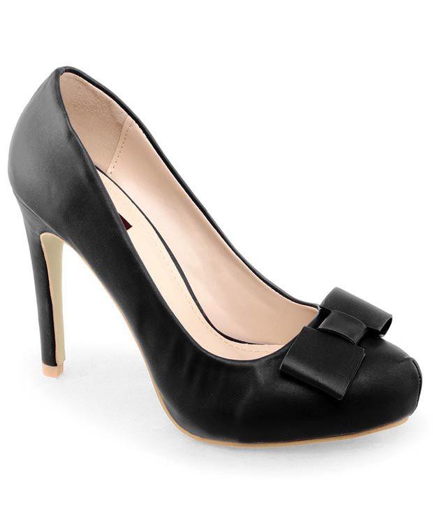 Shuz Touch Black Stiletto Heels