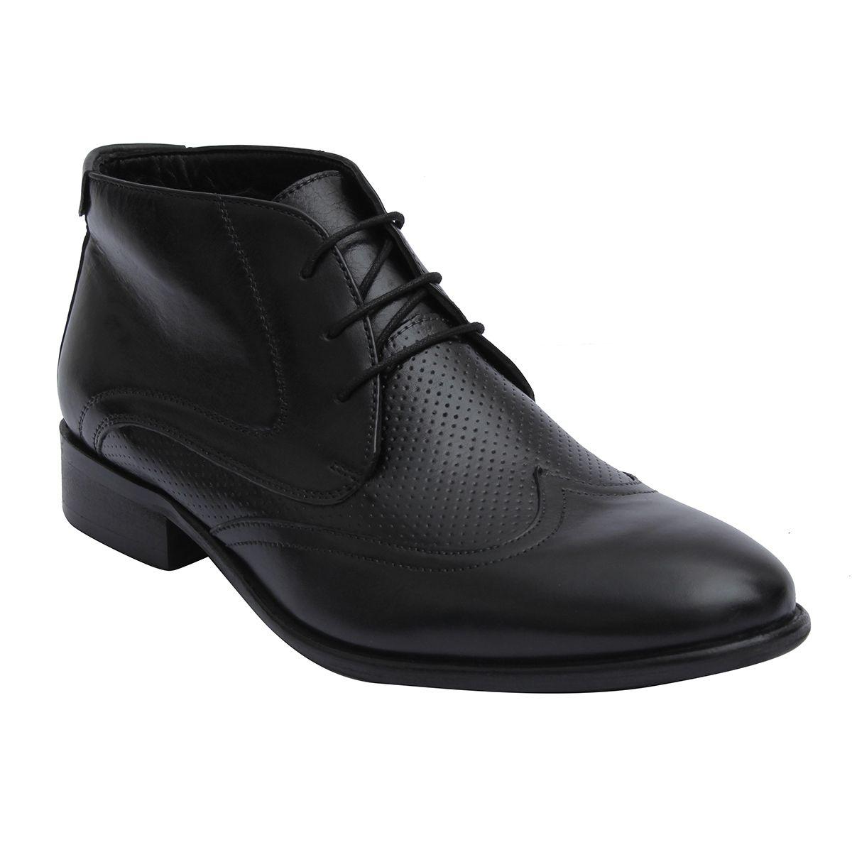 Salt N Pepper Black Boots
