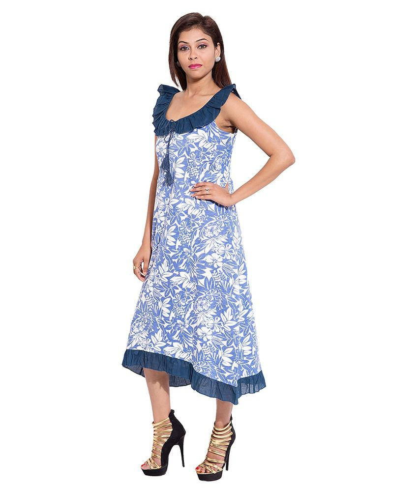 Buy Forever9teen Blue Cotton Nighty Online at Best Prices in India ... e2627e1fe