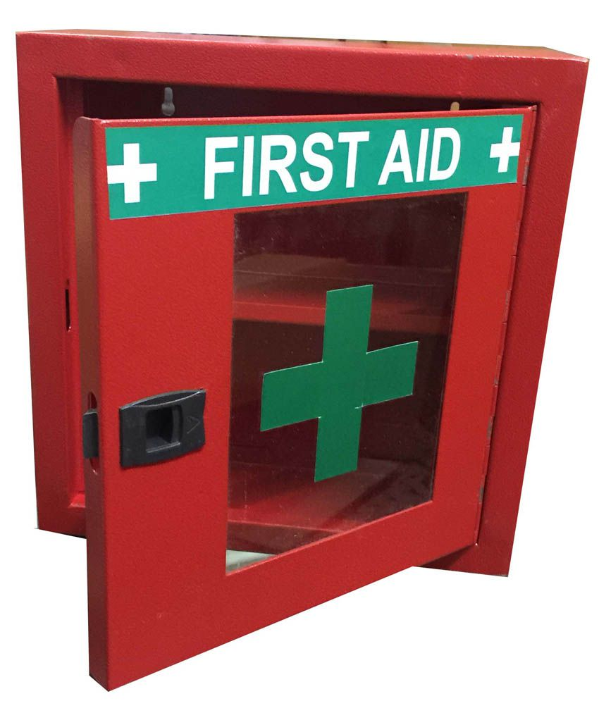 Medihelp Red Metal First Aid Box Buy Online At Best Price In India