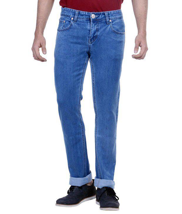 Passport Blue Regular Fit Jeans