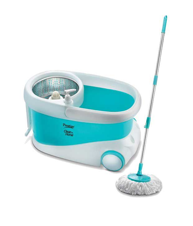 Prestige Psb 10 Blue Virgin Plastic Magic Mop Bucket Set
