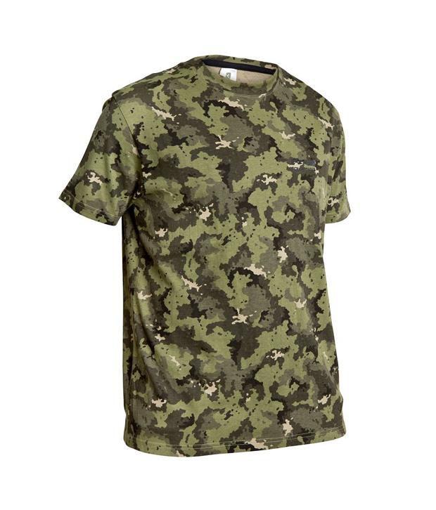 SOLOGNAC Steppe 100 T-Shirt Island Green By Decathlon