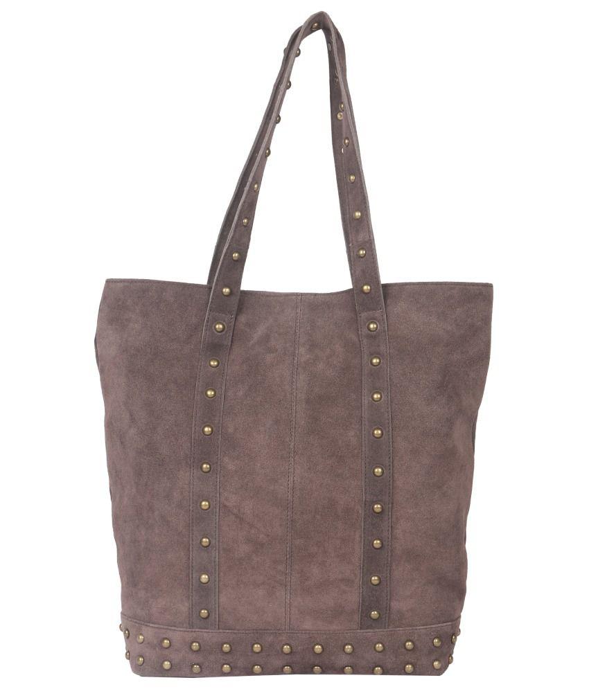 Tomas Brown Leather Shoulder Bag