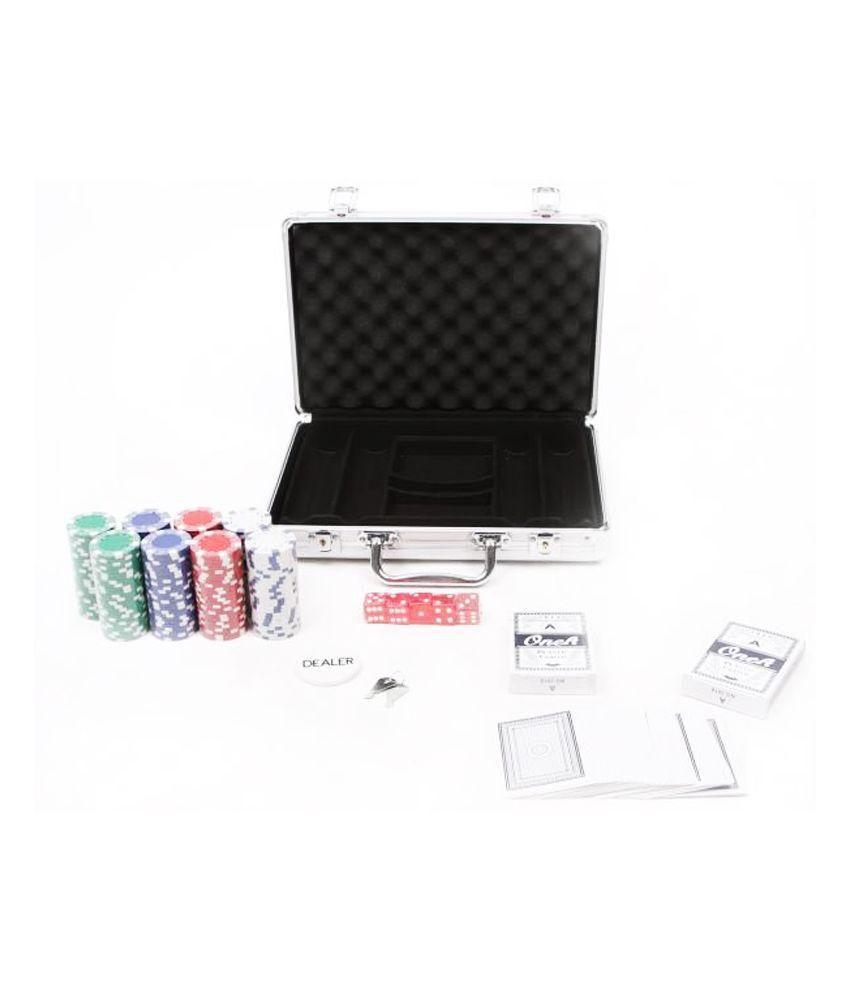 Wish It Have It 200 Chips Casino Poker Set with Aluminium Case