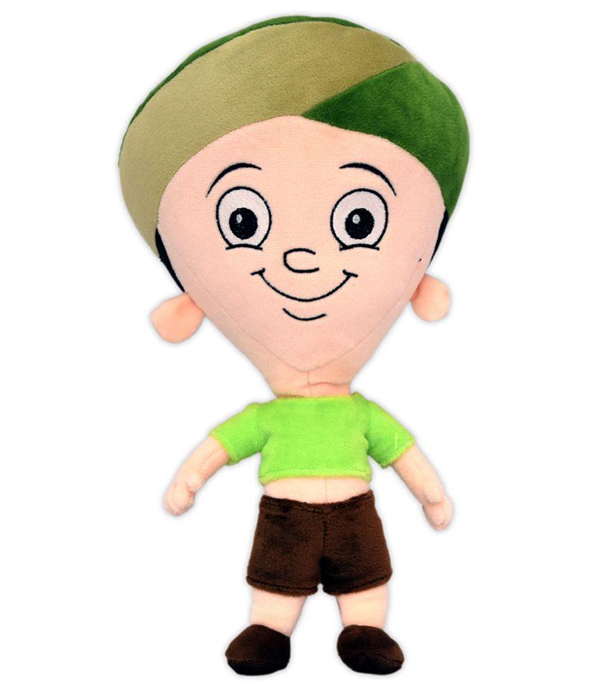 Chhota Bheem Green Dholu Plush Soft Toy 33 cm