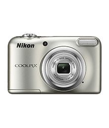 Nikon Coolpix A10 16.1 MP Digital Camera - Silver