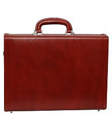 C Comfort Genuine Leather Briefcase Office Bag