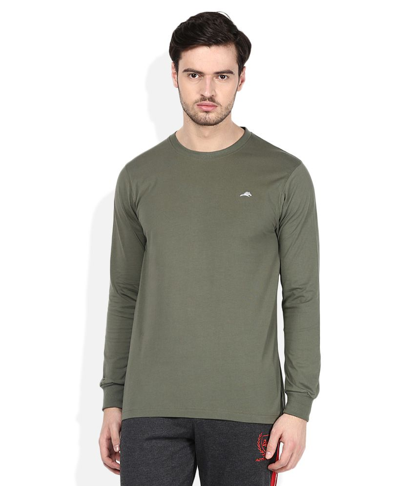 2go Green Round Neck T-Shirt