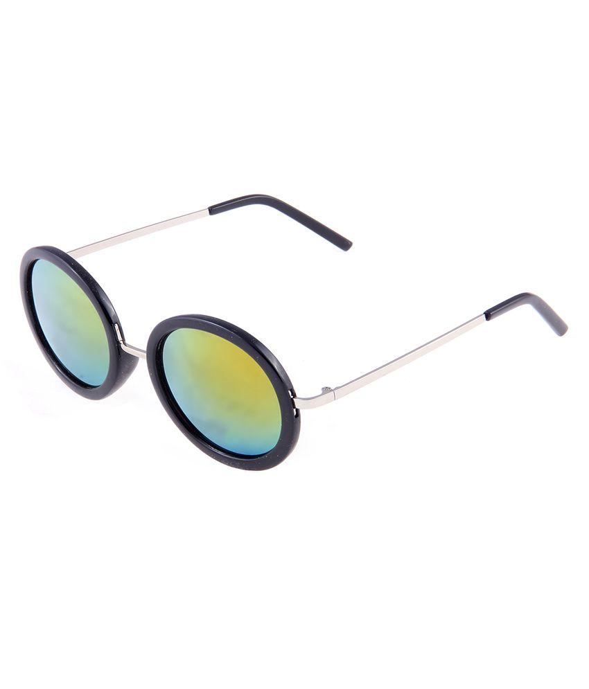 Di Tutti Green Round Sunglasses