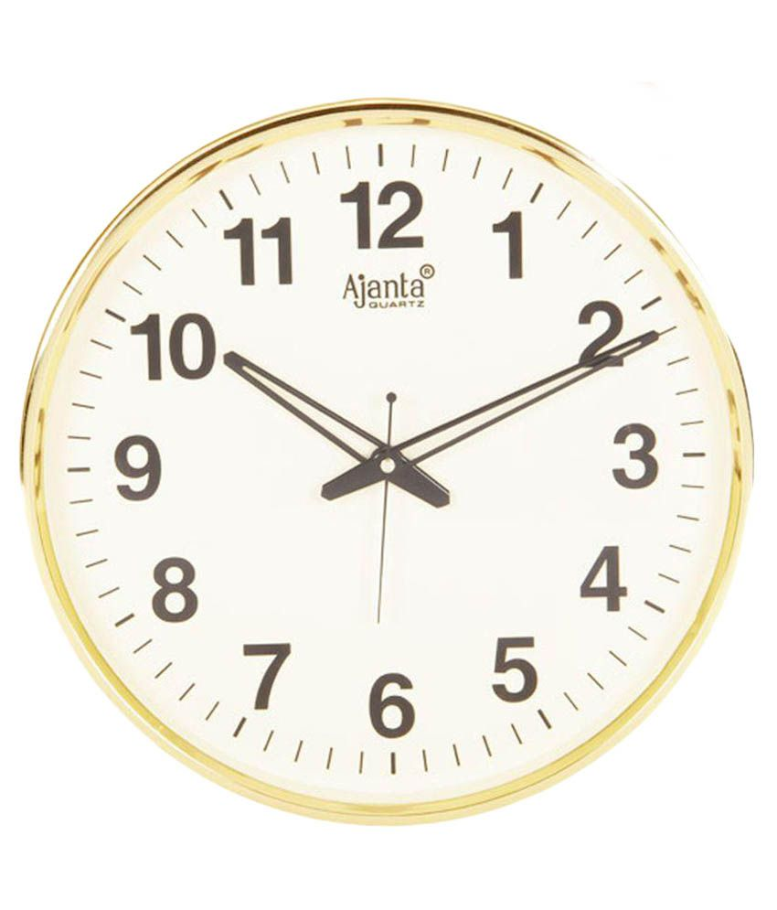 Ajanta Beige Wall Clock: Buy Ajanta Beige Wall Clock at ...