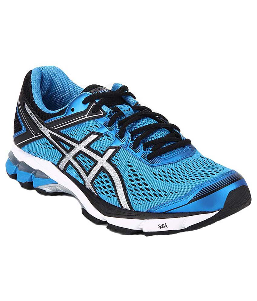 Asics running shoes men blue