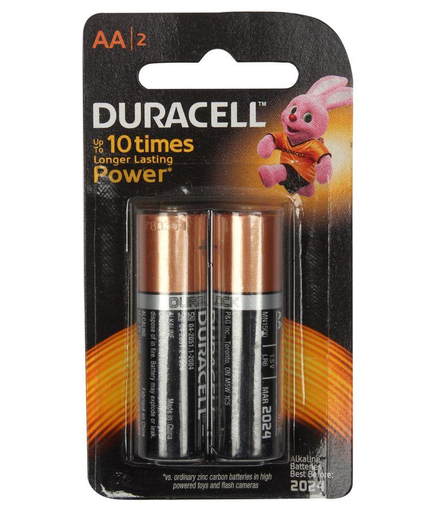 Duracell Alkaline Battery Aa 2