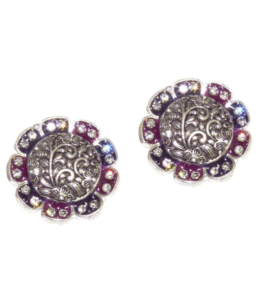 OC Silver Style Diva American Diamond Toe Rings