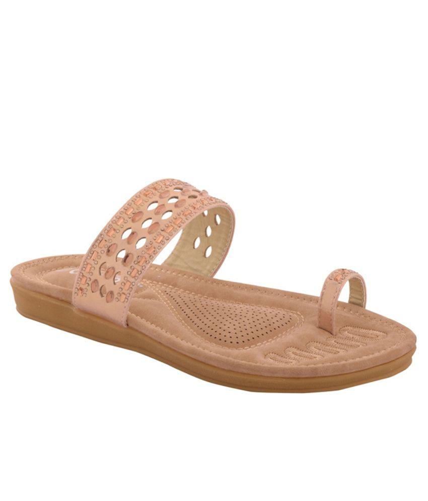 Cocoon Beige Flats