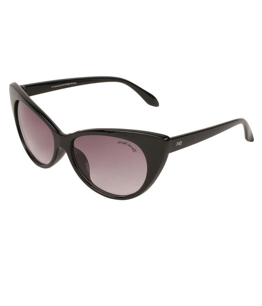 4f04855599c5c David Martin Black Cat Eye Sunglasses - Buy David Martin Black Cat Eye Sunglasses  Online at Low Price - Snapdeal