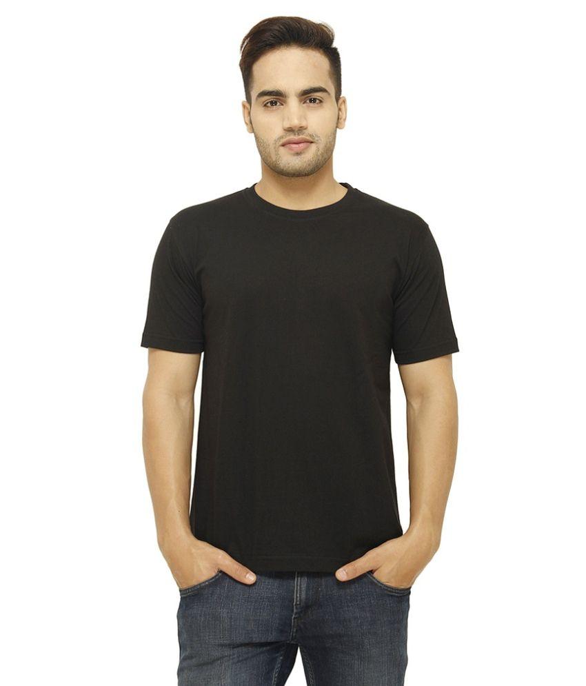 Soft Black Round T Shirts