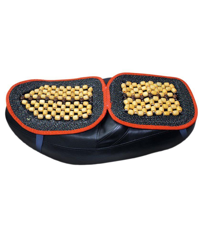 Spedy Acupressure Wooden Bead Seat Cover For Kawasaki Ninja 300