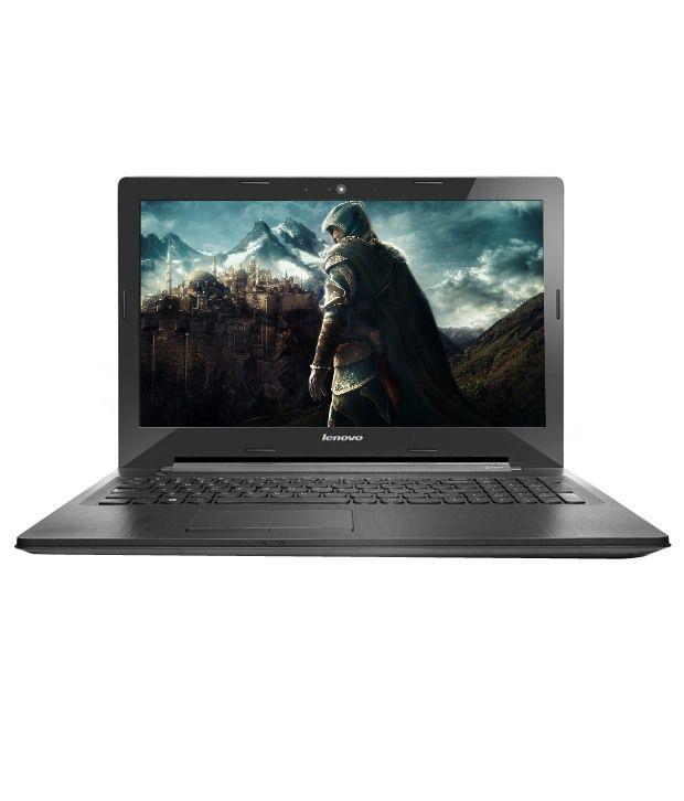 Lenovo G50-80 Notebook (80E503CBIH) (5th Gen Intel Core i3- 4GB RAM- 1TB HDD- 39.62 cm(15.6)- DOS- 2GB Graphics) (Black)