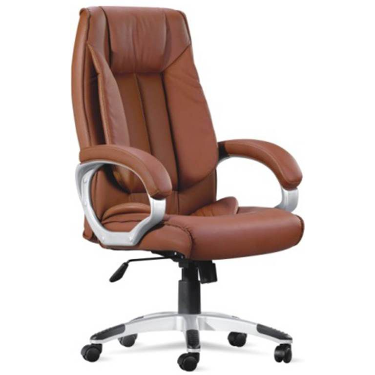 Adiko Cahuna High Back Executive Chair In Brown Leatherette Buy