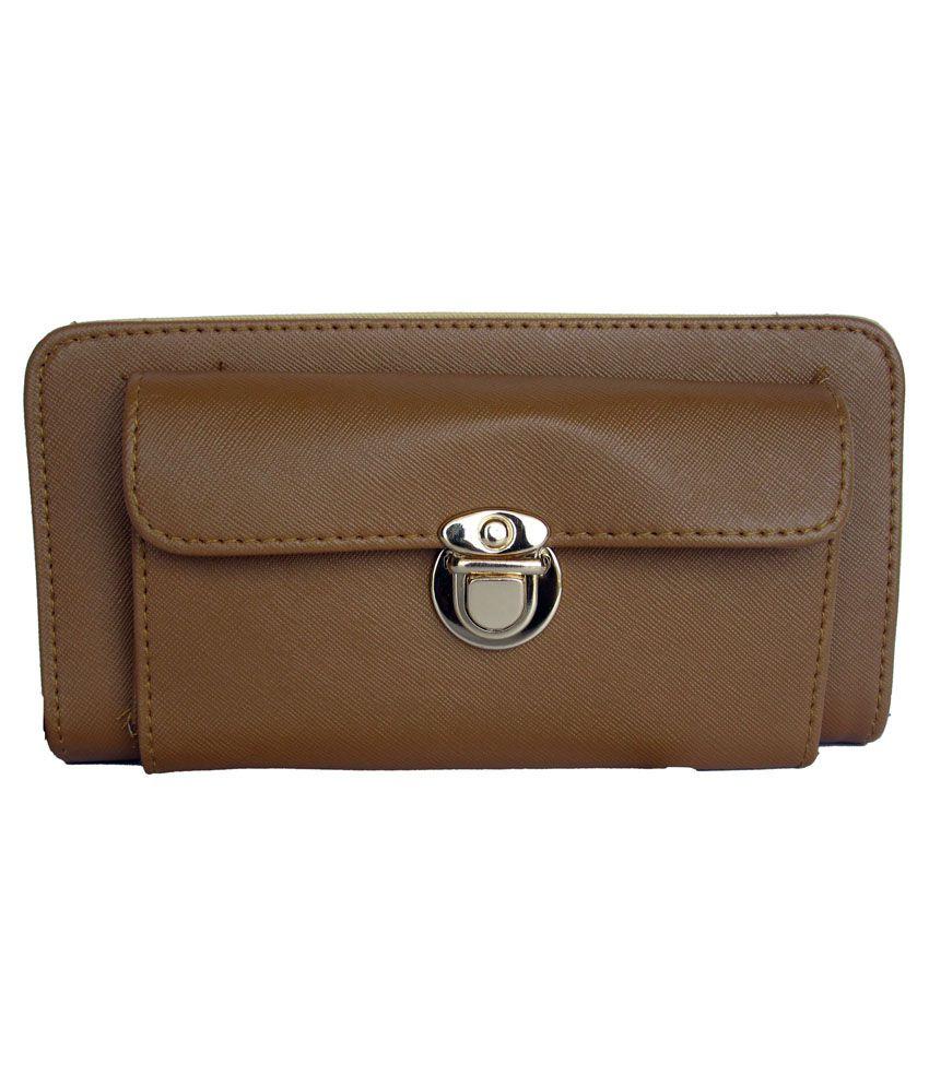 One Look Brown P.U Wallet