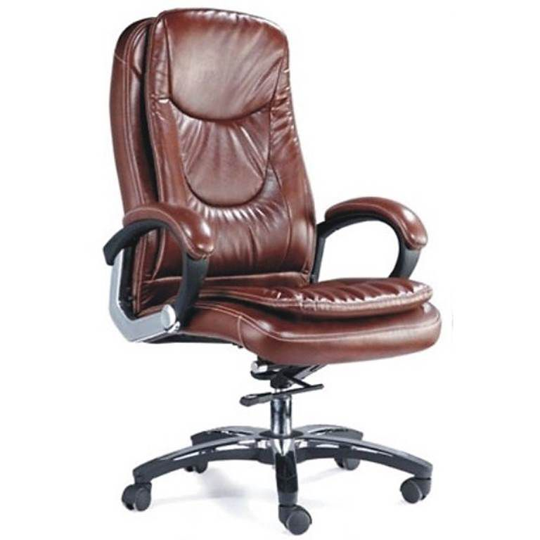Adiko High Back Executive Chair Consisting Of Cushioned Seat U0026 Back,  Black Silver Color Padded Arm Rest, Torsion Bar Mechanism, Gas Lift  Mechanism, ...