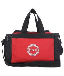 Estrella Companero Red And Black Fitness Gym Bag