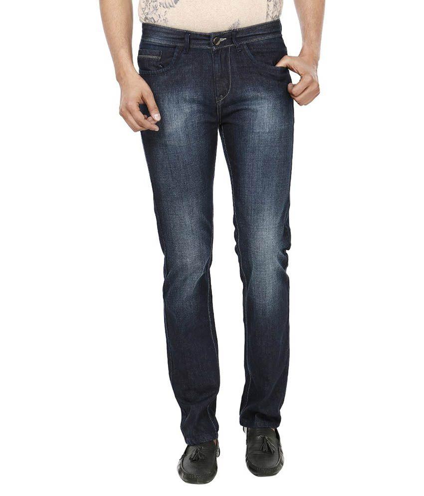 Fever Black Regular Fit Jeans