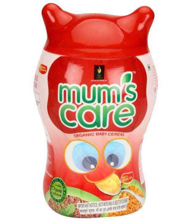 mum s care organic ragi and moong dal 300 g