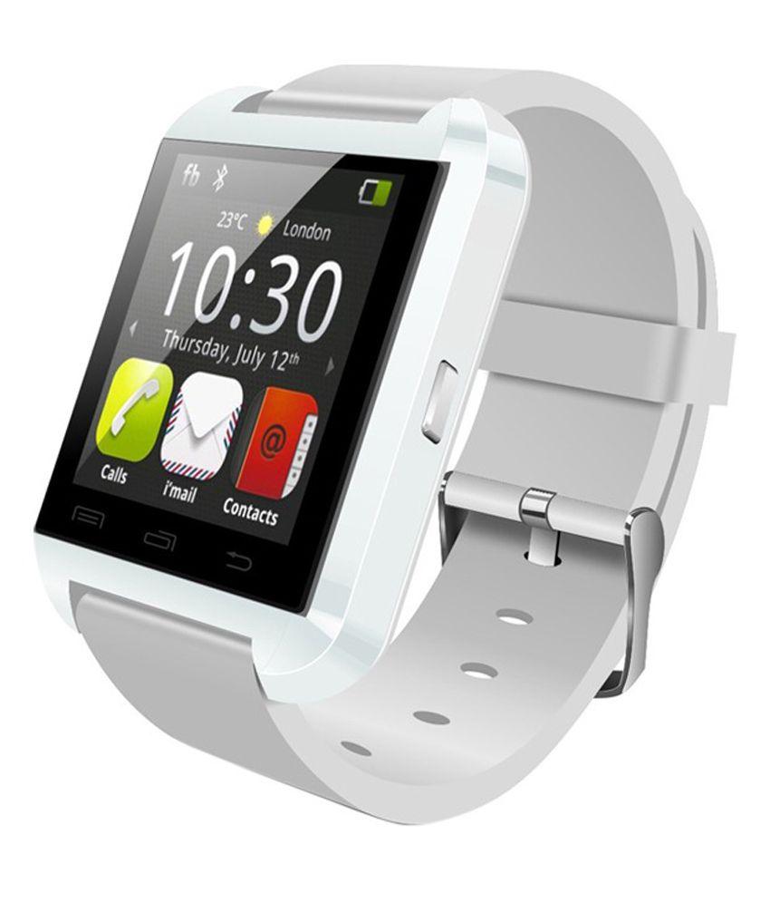Snaptic u8 Smart Watches White