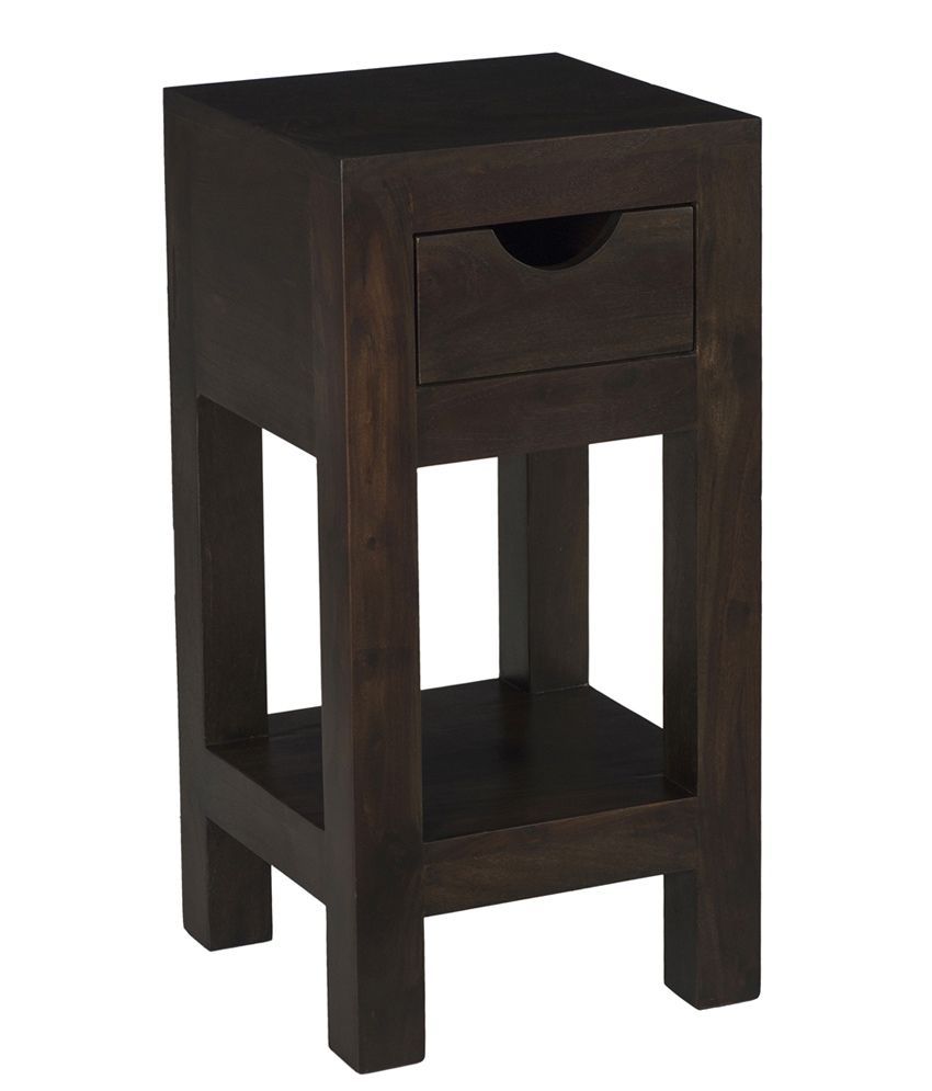 Ramayan Exim Pure Solid Wood Side Table