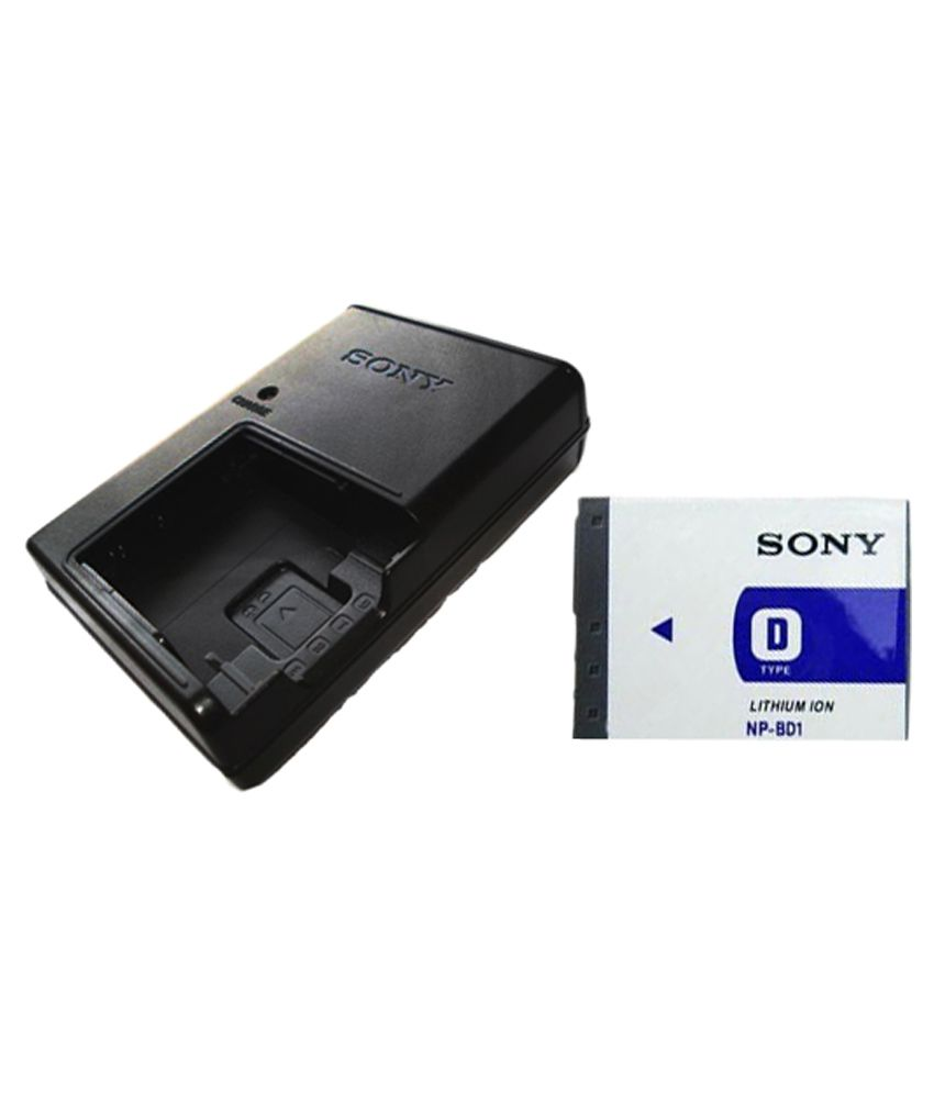 Sony NP BD1 1200 mAh Camera Battery Charger