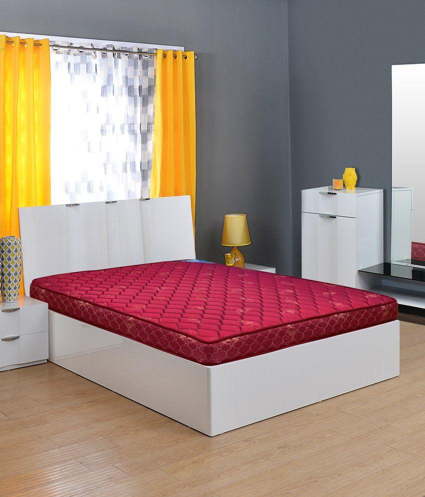 nilkamal econil bonnell queen spring mattress buy nilkamal econil