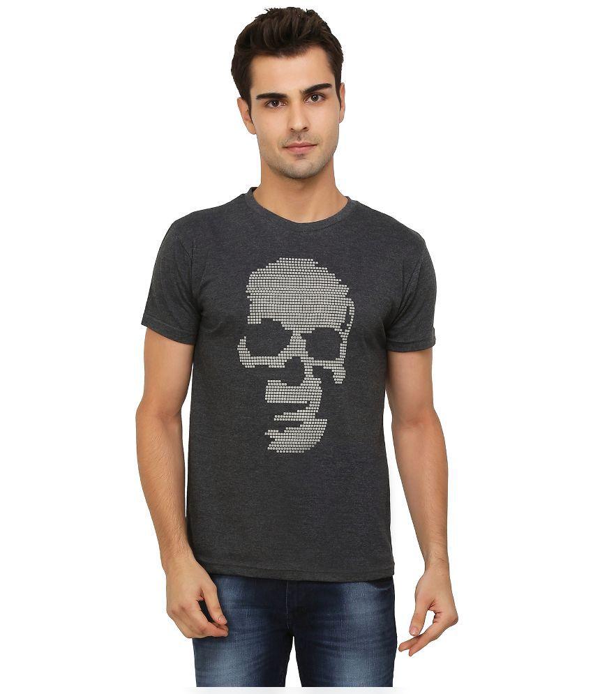 Imagica Grey Round T Shirt