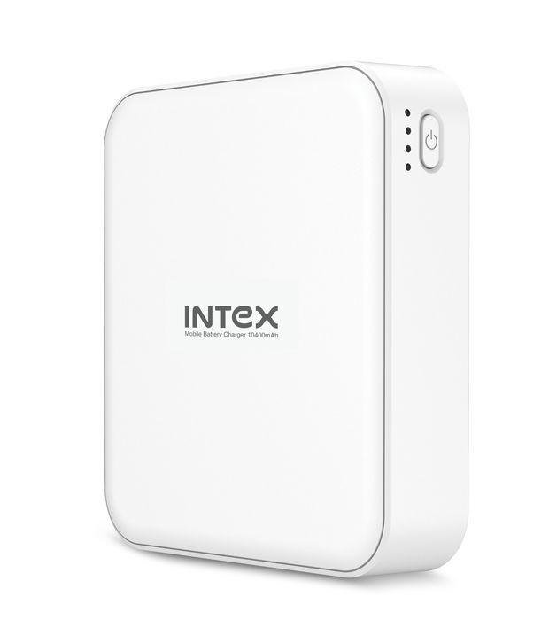 Intex IT-PB10.4K 10400mAh Power Bank White
