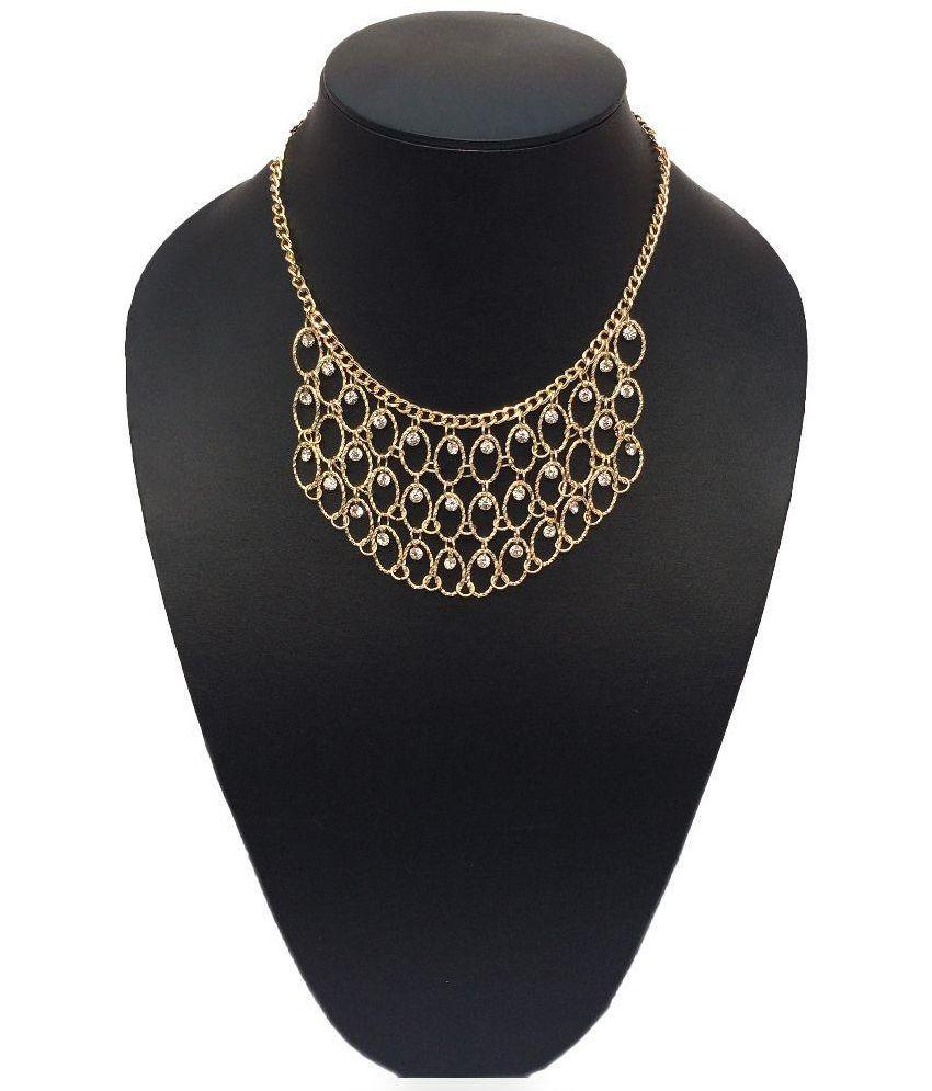 Sabtera Golden Alloy Necklace